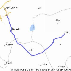 YAZD - ISFAHAN 450km