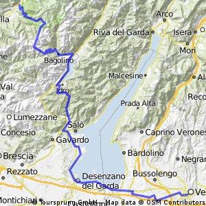 Holzkirchen-Gardasee Süd, Tag 5: Breno - Verona