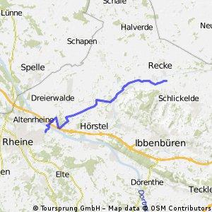 Trainingsrunde Herthasee ff.