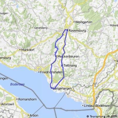 Langenargen-Ravensburg-Eriskirch-Langenargen
