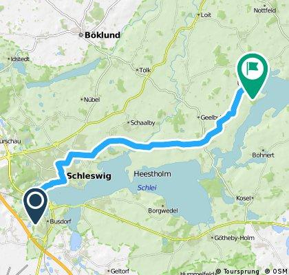 Schlei (Schleswig - Ulsnis)