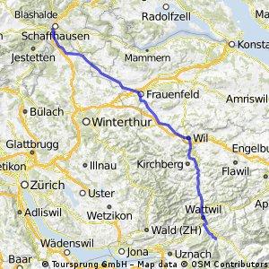Flurlingen - Ebnat-Kappel