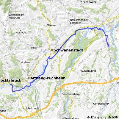 Radweg Wimsbach - Vöcklabruck