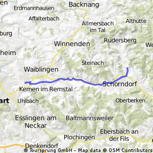 Fellbach Haubersbronn