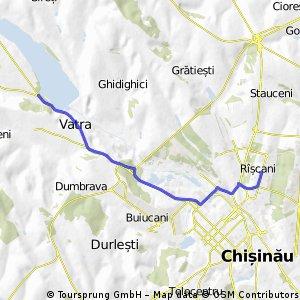 Riscani (Chisinau) - Ghidighici Reservoir