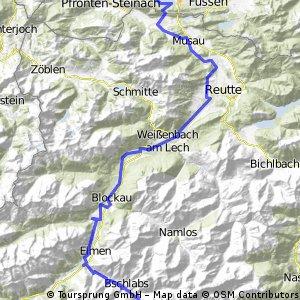 Transalp tag1 (61km) final