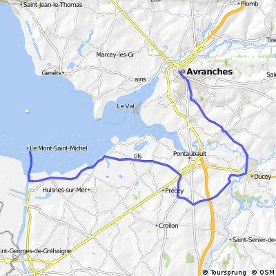 Etappe 11 Tour de France 2013 von Avranches zum Mont-Staint-Michel, EZF