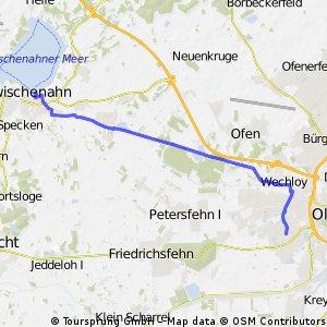 Zwischenahn - Oldenburg Woldsee
