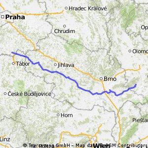 Výjezd Horní Borek - Velehrad