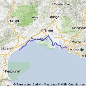 13. Marseille - Le Cap d'Agde