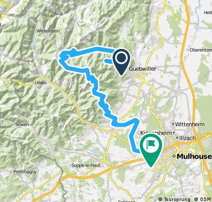 2013 Sommer - Elsass - Tag 6: Gebweiler - Grosser Belchen - Mülhausen