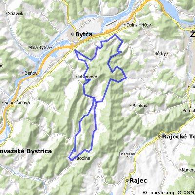 Súľovský  maratón 48 km.