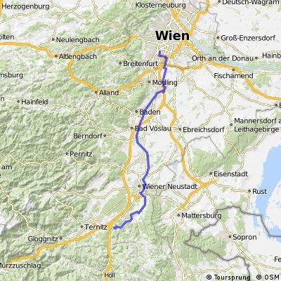 Seebenstein (via Thermenradweg, EV9)