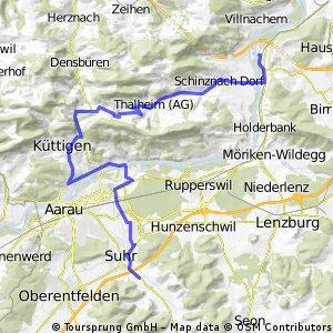 Schinznach-Staffelegg-Biberstein-Gränichen