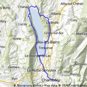 Tour du Lac du Bourget et Chambotte