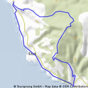 15er Wanderung Sithonia: Rundwanderung Agios Pavlos