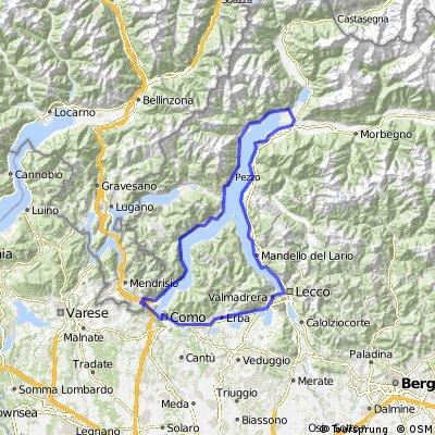Chiasso - Lago di Como - Chiasso