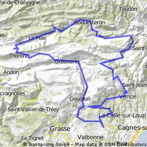 Roquefort Bergschleife