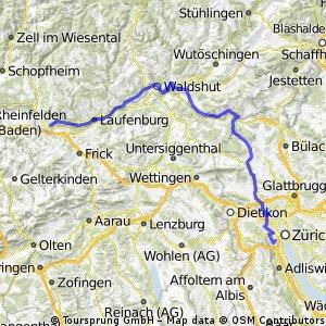 Tour 13 1. Etappe