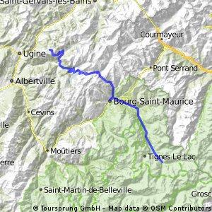Transalp 2 Les Saisies-Val d'Isere