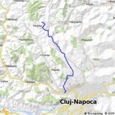 Traseul 29: Cluj-Napoca - Vechea - Popesti