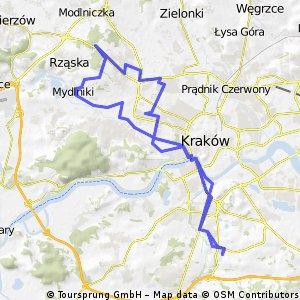 Kurdwanów - Fort Mydlniki i Pasternik