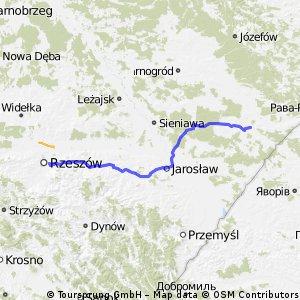 Lubaczów - Rzeszów szosa!