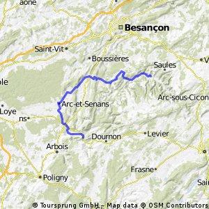 5. Ornans-Salins-les Bains