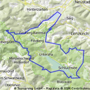 Titisee-Feldsee-Schluchsee
