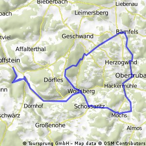 Egloffstein_Wolfsberg_Möchs_Obertrubach_Bärnfels_Signalstein_Wolfsberg