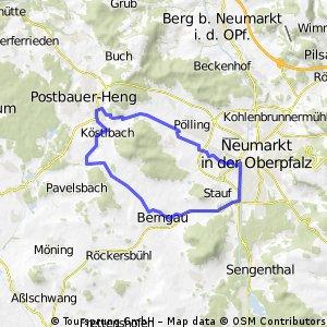20 km Feierabend - Tour 2
