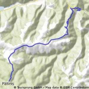 Traseu King of the Mountain 2012 - Curmatura- Paltinis