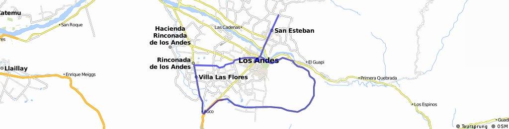 Pedaleo por Los Andes