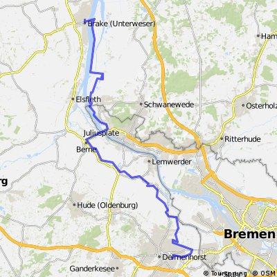 Weser Ollen Radtour