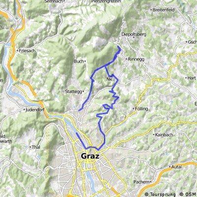Andritz - Panoramaweg -Hauenstein