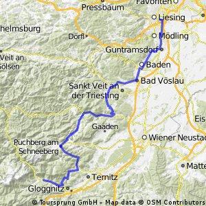 Wien Siebenhirten - Reichenau an der Rax II