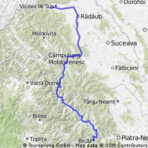 Traseu Bucovina 2011
