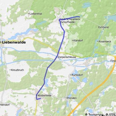 Heidekrautbahn nach GFZ Standort Groß Schönebeck