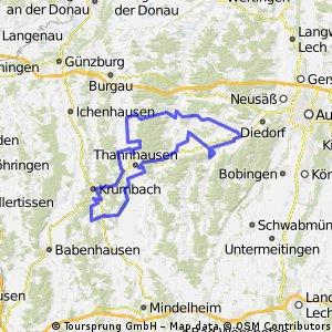 Von Aletshausen in die westlichen Wälder