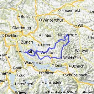 Erlenbach- Hulftenegg Rundstrecke