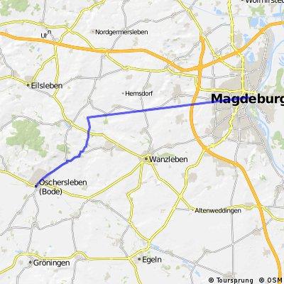 Magdeburg - Oschersleben