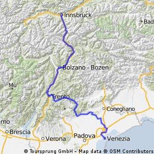 Vyšší Brod-Innsbruck-Benátky(2.část)