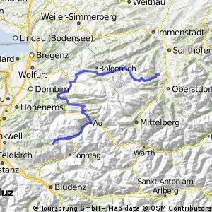von Oberstdorf zum Furkajoch (einfach)