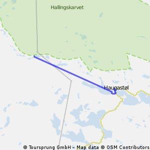 Rallarvegen: Haugastøl - Flåm