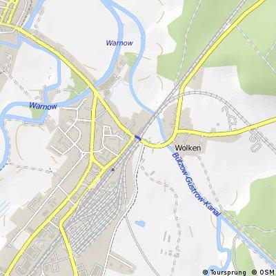 Bahnübergang Bützow