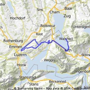 Walchwil - Rotsee - Walchwil