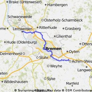 Achim - Bremen Vegesack