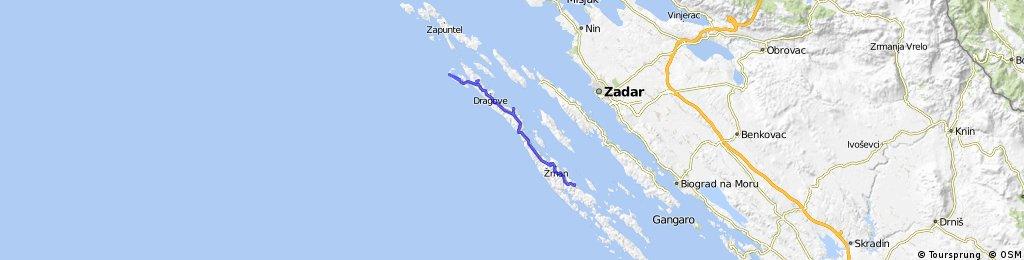 Dugi otok (Sali - Veli rat - Božava)