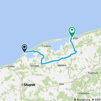 2013 - Polnische Ostsee plus - 5. Tag - Rowy - Łeba