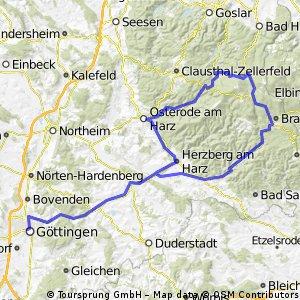 Göttingen - Torfhaus und zurück
